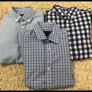 Boys Button-Down shirts lot of 3.  Size 10-12